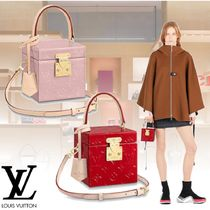 Louis Vuitton MONOGRAM VERNIS Monogram 2WAY Leather Elegant Style Shoulder Bags