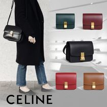 CELINE Classic Calfskin 3WAY Plain Shoulder Bags