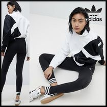 adidas Casual Style Street Style Plain Long Bottoms