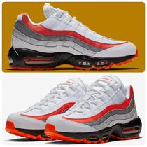 Nike AIR MAX 95 Stripes Unisex Street Style Leather Sneakers