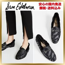Sam Edelman Round Toe Leather Elegant Style Loafer & Moccasin Shoes
