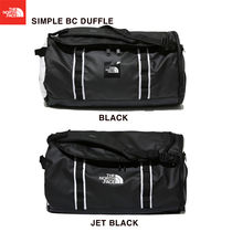 THE NORTH FACE Unisex Street Style A4 Plain Boston Bags