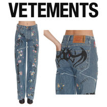 VETEMENTS Casual Style Denim Street Style Collaboration Tribal