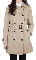 Burberry THE KENSINGTON Plain Medium Trench Coats