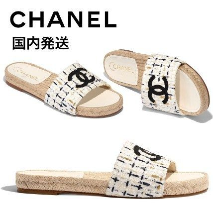 33f5c2b2aafb CHANEL More Sandals Tweed Sandals 5 CHANEL More Sandals Tweed Sandals ...