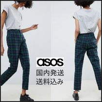 ASOS Other Check Patterns Casual Style Cotton Long