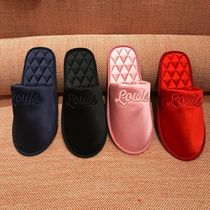 Louis Vuitton Plain Toe Bi-color Elegant Style Slippers Slip-On Shoes