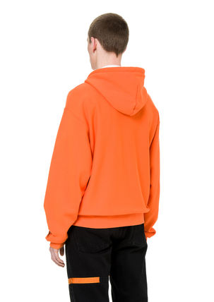 Heron Preston Hoodies Unisex Street Style Long Sleeves Plain Cotton Hoodies 3