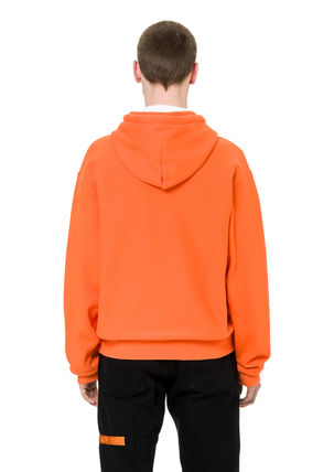 Heron Preston Hoodies Unisex Street Style Long Sleeves Plain Cotton Hoodies 5