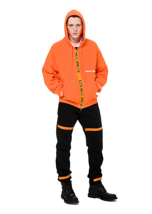 Heron Preston Hoodies Unisex Street Style Long Sleeves Plain Cotton Hoodies 6