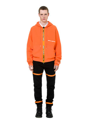 Heron Preston Hoodies Unisex Street Style Long Sleeves Plain Cotton Hoodies 7