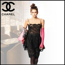 CHANEL Plain Smartphone Use Gloves
