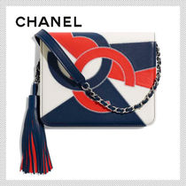 CHANEL Tassel 2WAY Leather Shoulder Bags