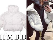 HMBD Short Camouflage Street Style Collaboration Down Jackets