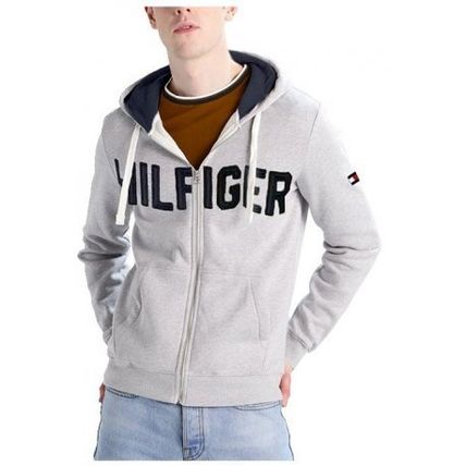 Tommy Hilfiger Hoodies Unisex Street Style Long Sleeves Cotton Hoodies 3