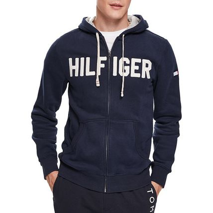 Tommy Hilfiger Hoodies Unisex Street Style Long Sleeves Cotton Hoodies 6