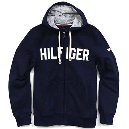 Tommy Hilfiger Hoodies Unisex Street Style Long Sleeves Cotton Hoodies 7