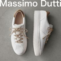 Massimo Dutti Plain Low-Top Sneakers
