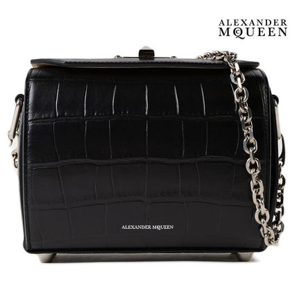 2WAY Chain Leather Shoulder Bags