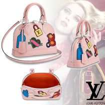 Louis Vuitton EPI 2WAY Leather Elegant Style Handbags