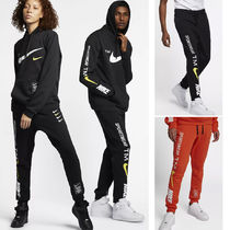 Nike Unisex Street Style Cotton Joggers (Sweatpants) 4 colors