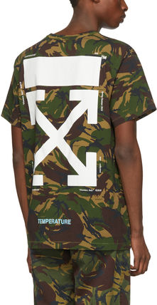 Off-White More T-Shirts Camouflage T-Shirts