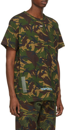 Off-White More T-Shirts Camouflage T-Shirts 3