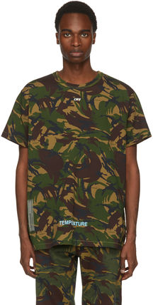 Off-White More T-Shirts Camouflage T-Shirts 4