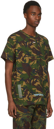 Off-White More T-Shirts Camouflage T-Shirts 5