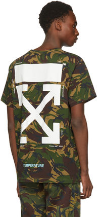 Off-White More T-Shirts Camouflage T-Shirts 6