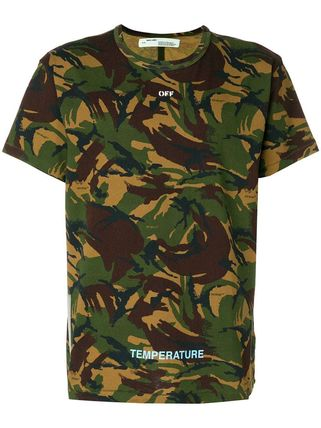 Off-White More T-Shirts Camouflage T-Shirts 7