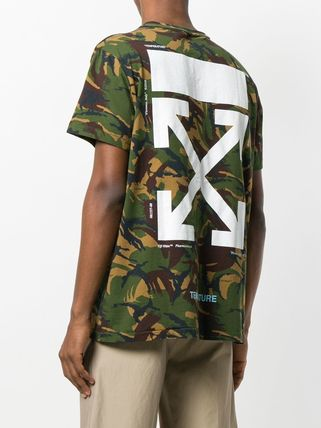 Off-White More T-Shirts Camouflage T-Shirts 10