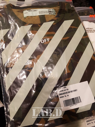 Off-White More T-Shirts Camouflage T-Shirts 12