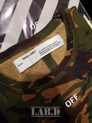 Off-White More T-Shirts Camouflage T-Shirts 14