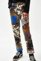 Printed Pants Monogram Street Style Other Animal Patterns