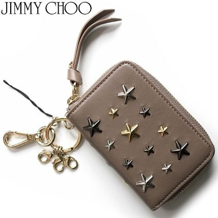 Star Leather Keychains & Bag Charms