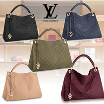 Louis Vuitton MONOGRAM EMPREINTE Monogram Leather Elegant Style Handbags