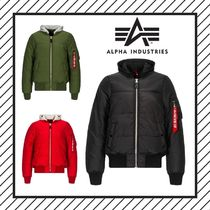 ALPHA INDUSTRIES Short MA-1 Bomber Jackets