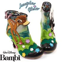 Irregular Choice Flower Patterns Round Toe Casual Style Collaboration