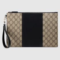 GUCCI Canvas Street Style Bags