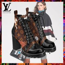 Louis Vuitton Monogram Casual Style Other Animal Patterns Leather