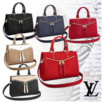 Louis Vuitton Monogram Leather Handbags