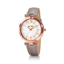 Folli Follie Casual Style Leather Round Quartz Watches Analog Watches