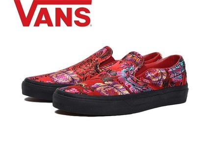 07a078f56a02 ... VANS Low-Top Flower Patterns Casual Style Unisex Low-Top Sneakers ...