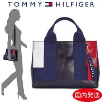 Tommy Hilfiger Casual Style Canvas Street Style 2WAY Handbags