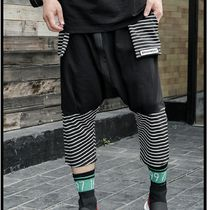 Stripes Street Style Sarouel Pants