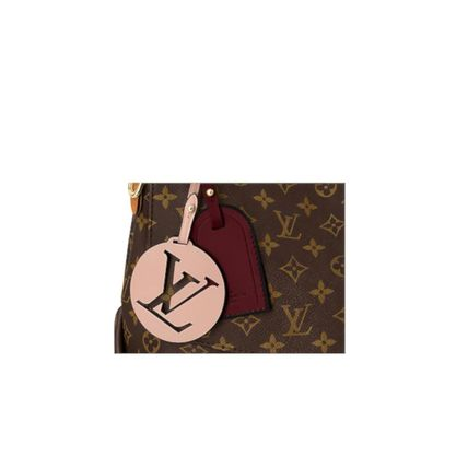 Louis Vuitton Handbags Monogram 2WAY Leather Elegant Style Handbags 5