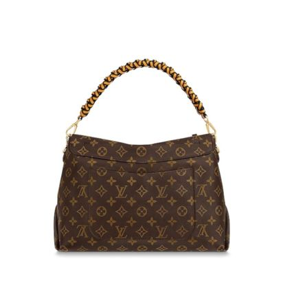 Louis Vuitton Handbags Monogram 2WAY Leather Elegant Style Handbags 6