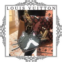 Louis Vuitton EPI Unisex Collaboration Leather Card Holders