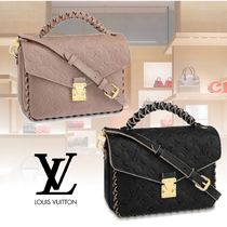 Louis Vuitton MONOGRAM EMPREINTE Monogram 2WAY Leather Elegant Style Handbags